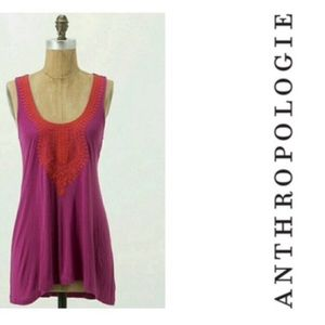 🌸 Anthropologie Vanessa Virginia Tank Size S